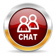 Stock Photo: Chat icon