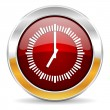Time icon — Foto de stock #34402859