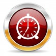 Alarm icon — Foto de stock #34418053