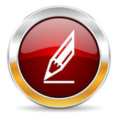 Pencil icon — Foto Stock