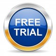 Stock Photo: Free trial icon