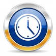 Time icon — Stockfoto #34563519