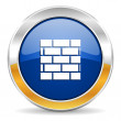 Firewall icon — Stock Photo #34563941