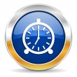 Alarm icon — Stock Photo #34564045