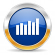 Graph icon — Stock Photo #34564493