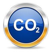 Ikona dwutlenku węgla — Zdjęcie stockowe