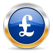 Pound icon — Stockfoto