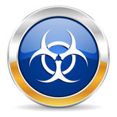 Biohazard icon — Stock Photo