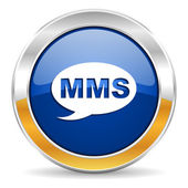 Mms icon — Stock Photo