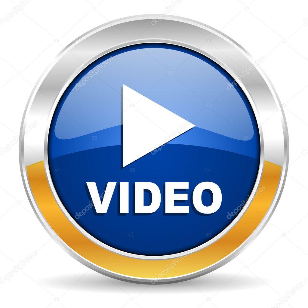 Video icon — Stock Photo © alexwhite #34562733  Video icon — ...