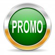Promo icon — Stock Photo