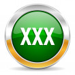Stock Photo: Xxx icon