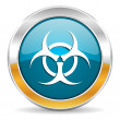 Biohazard icon — Stock Photo #35114357