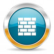 Firewall icon — Stock Photo #35114933