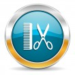 Barber icon — Stock Photo