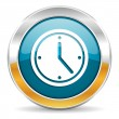 Time icon — Stock Photo #35116031