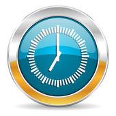 Time icon — Stock Photo