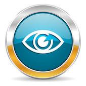 Olhos icon — Fotografia Stock