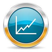 Diagram icon — Stockfoto