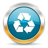 Recycle icon — Stock Photo