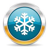 Icône de neige — Photo