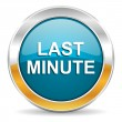 Last minute icon — Stock fotografie #35195783