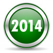 Year 2014 icon — Stock Photo #35204519