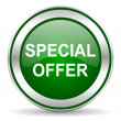 Stock Photo: Special offer icon