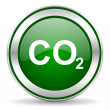 Carbon dioxide icon — Stock Photo #35204631