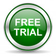 Free trial icon — Stock Photo