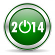 Year 2014 icon — Stock Photo