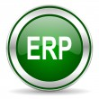 Erp icon — Stock Photo