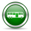 Stock Photo: Bus icon