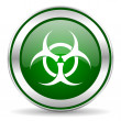Stock Photo: Biohazard icon