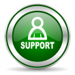 Support icon — Foto de Stock