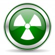 Radiation icon — Stockfoto #35207731
