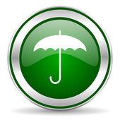 Şemsiye simgesi — Stok fotoğraf