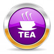 Tea icon — Stock Photo