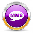 Mms icon — Stock Photo #35673939
