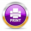 Printer icon — Stock Photo #35674221