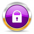 Padlock icon — Stock Photo #35674661