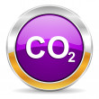 Stock Photo: Carbon dioxide icon