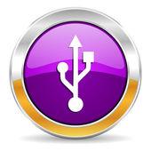 Usb icon — Stock Photo