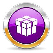 Box icon — Stock Photo