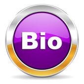 Bio icon — Stock Photo