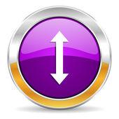 Arrow icon — Stock Photo