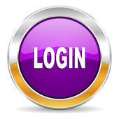 Login icon — Stock Photo