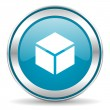 Box icon — Stockfoto
