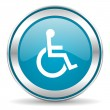 Wheelchair icon — Stock Photo #35830585