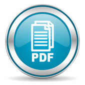 Pdf icon, — Stock Photo